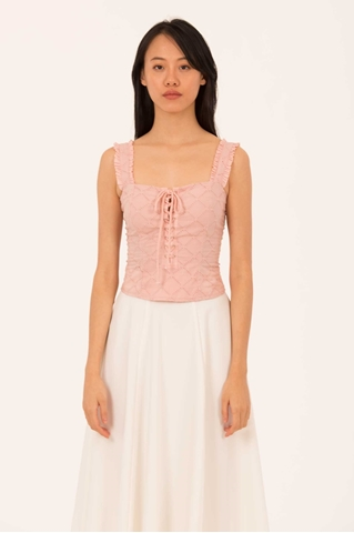 Show details for Dinulliow Top (Pale Pink)