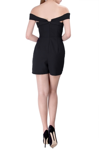 Show details for Dakaza Romper (Black)