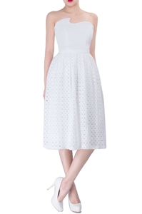 Picture of Dominc Skirt (White)