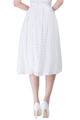 Show details for Dominc Skirt (White)