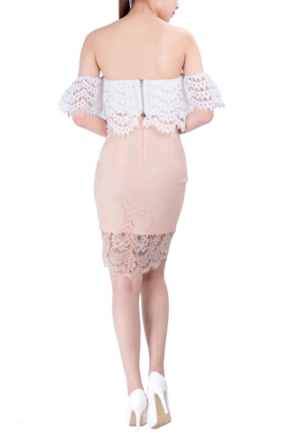 Show details for Dilphe Skirt (Peach)