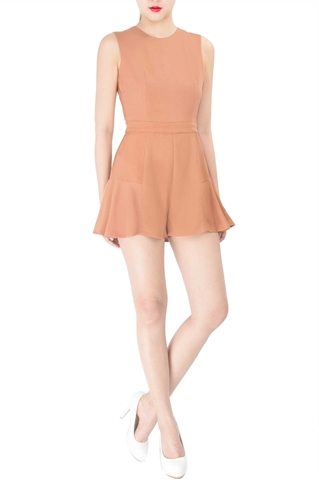 Picture of Decalen Romper (Beige)