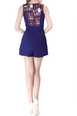 Show details for Doveas Romper (Purple)
