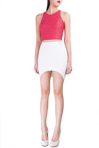 Picture of Derlux Skirt (White)