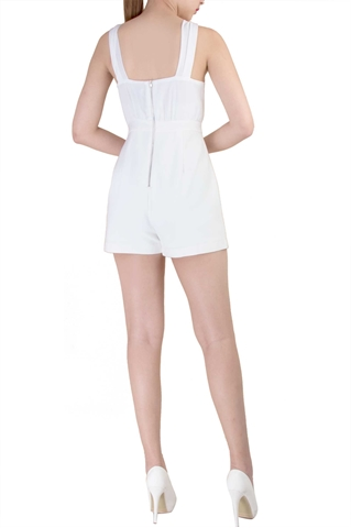 Show details for Deberyst Romper (White)
