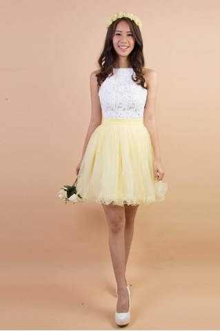 Show details for Diverxia Skirt (Powder Yellow)