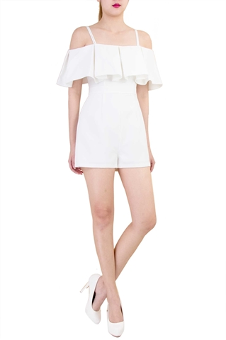 Picture of Doherzak Romper (White)