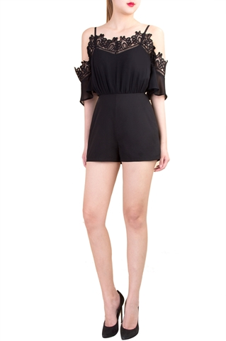 Picture of Dameliaz Romper (Black)