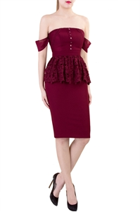 Picture of Dishalzy (Maroon)