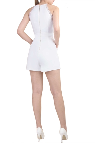 Show details for Declaria Romper (White)
