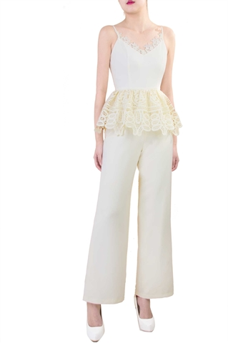 Picture of Diverlo Jumpsuit (Cream)
