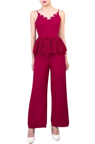 Picture of Diverlo Jumpsuit (Dark Pink)