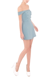 Picture of Demeica Romper (Pale Blue)