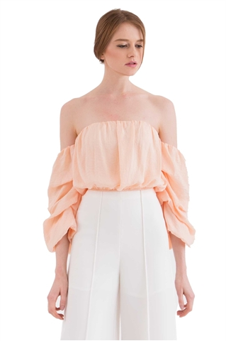 Show details for Diniterqa Top (Peach)