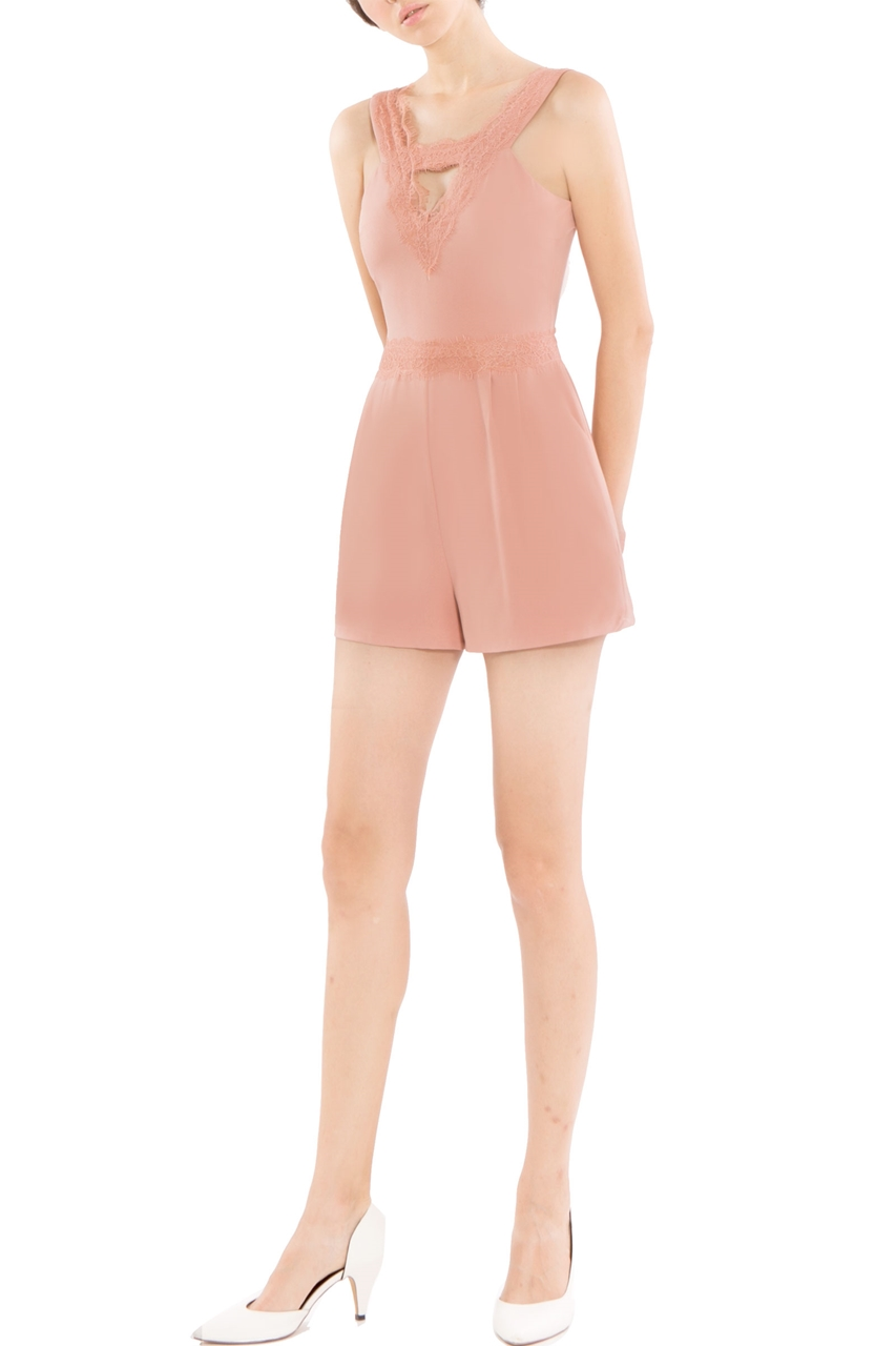 Picture of Dinerlic Romper (Blush)