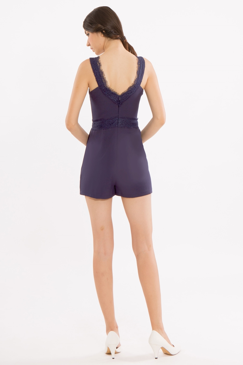 Picture of Dinerlic Romper (Navy)