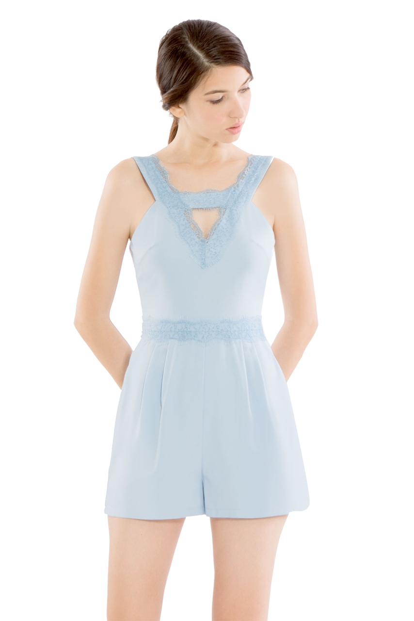 Picture of Dinerlic Romper (Powder Blue)