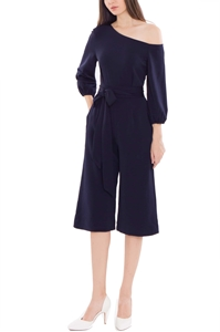 Picture of Derkayra Jumpsuit Cullotes (Dark Blue)