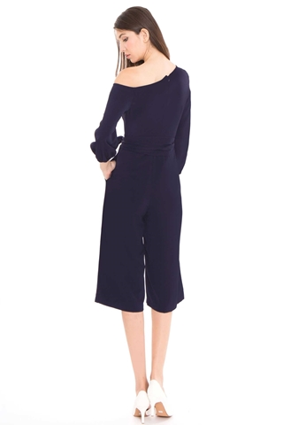 Show details for Derkayra Jumpsuit Cullotes (Dark Blue)