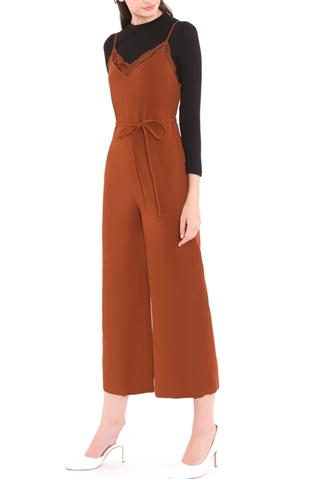 Picture of Deflvine Jumpsuit (Rust Orange)