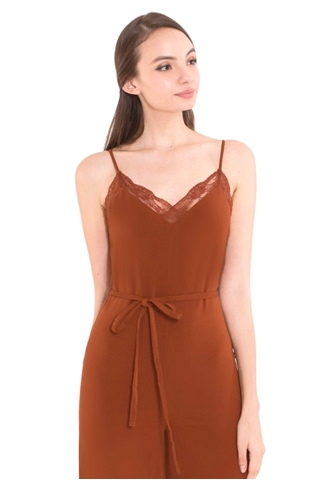 Show details for Deflvine Jumpsuit (Rust Orange)