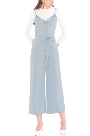 Picture of Deflvine Jumpsuit (Pale Blue)