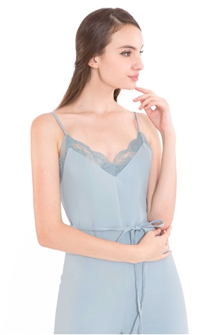 Show details for Deflvine Jumpsuit (Pale Blue)