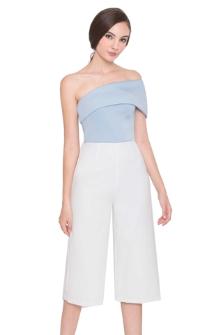 Show details for Dioromes Jumpsuit Cullotes (Powder Blue)