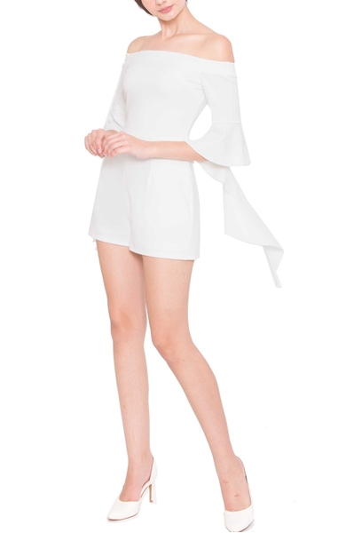 Picture of Derlaydar Romper (White)