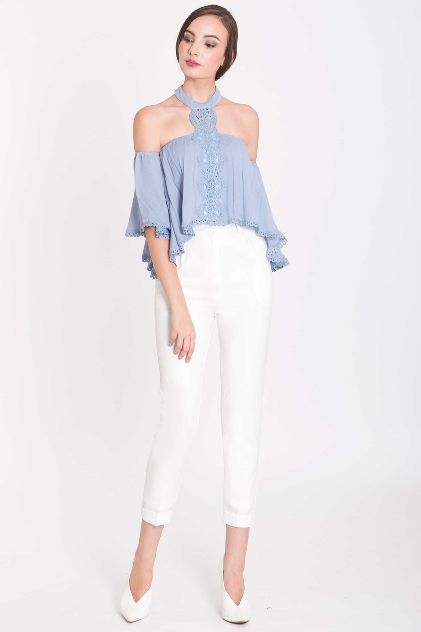 Picture of Derventley Top (Pale Blue)