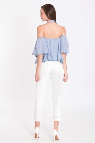 Show details for Derventley Top (Pale Blue)