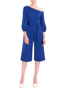 Picture of Derkayra Jumpsuit Cullotes (Blue)