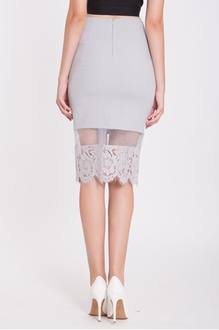 Show details for Derdaria Skirt (Grey)