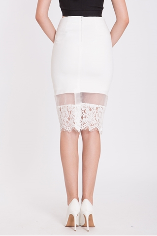 Show details for Derdaria Skirt (White)