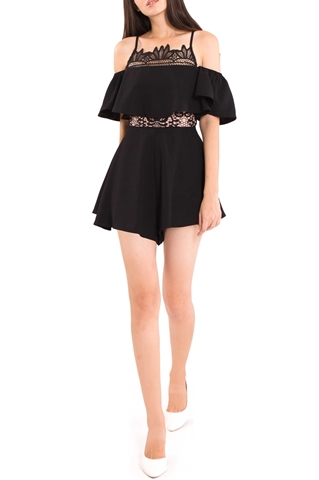 Picture of Dergotha Romper (Black)