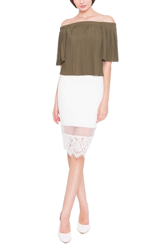 Picture of Daperla Top (Army Green)