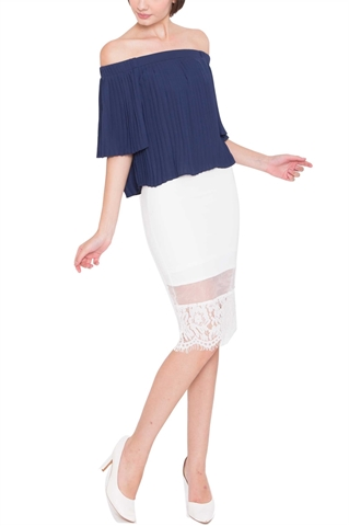 Picture of Daperla Top (Navy)