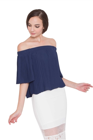Show details for Daperla Top (Navy)