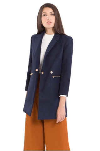 Show details for Dofriaz Coat (Navy)