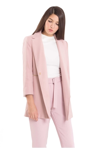 Show details for Dofriaz Coat (Pale Pink)