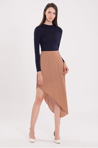 Show details for Ditaci Skirt (Brown)