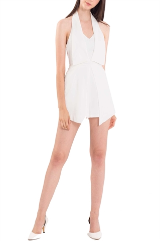 Picture of Dezra Romper (White)