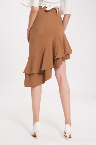 Show details for Derliiwa Skirt (Brown)