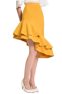 Picture of Derliiwa Skirt (Mustard)