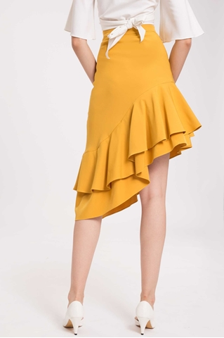 Show details for Derliiwa Skirt (Mustard)