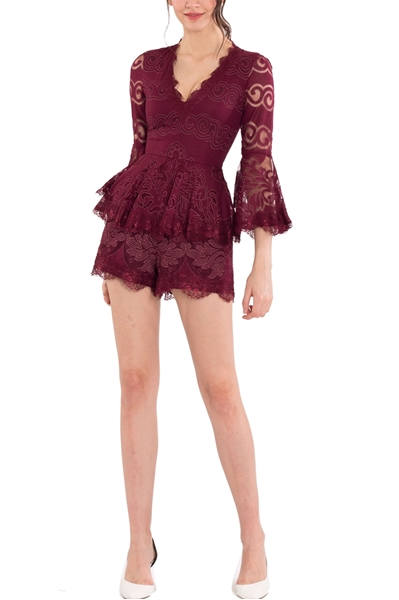 Picture of Daxverst Romper (Maroon)