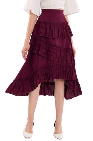 Picture of Datariver Skirt (Burgundy)
