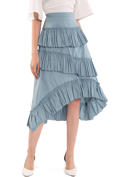 Picture of Datariver Skirt (Dull Blue)