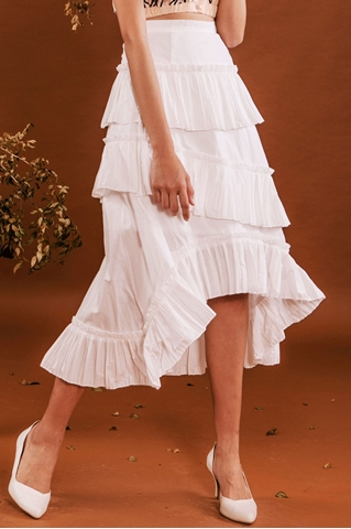 Show details for Datariver Skirt (White)