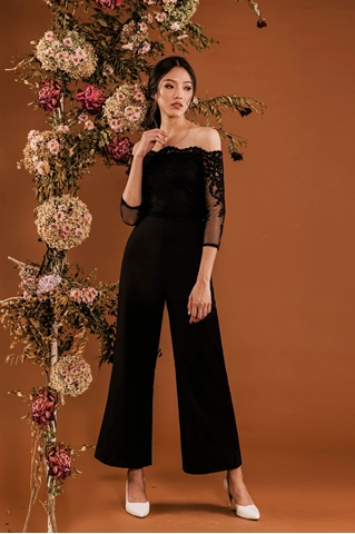 Show details for Derliafa Jumpsuit (Black)